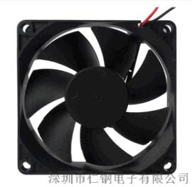8020散热风扇丨8cm直流风机丨80*80*20mm风扇 深圳市仁钢电子 直流风扇