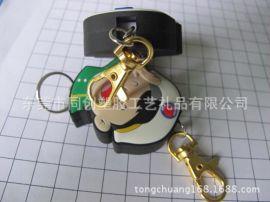 台湾邮政软pvc硅胶滴胶易拉得伸缩扣礼品