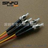 【中國高鐵定製】索伏(SFIFO、SOOFIBER) ST光纖跳線 纖芯200um