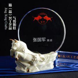 陶瓷獎杯獎牌 金融公司獎牌  廠家直銷