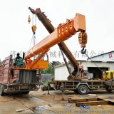 12吨船吊厂家 海南造船厂船舶随船起重机