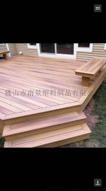 厂家直销塑木地板,NJ001户外塑木地板