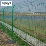 圈地围栏网、绿色围栏铁丝网、工地厂区护栏