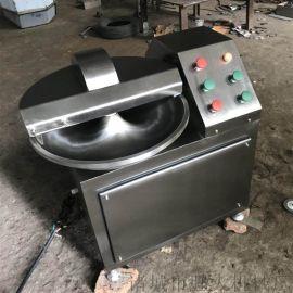 新乡牛肉丸斩拌机 自动出料鸡肉丸子斩拌机