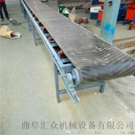 黑色橡胶输送机厂家推荐 小麦装车输送机