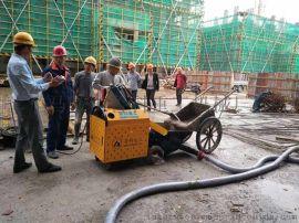 二次结构泵合作河南正阳建设正商书香铭筑项目