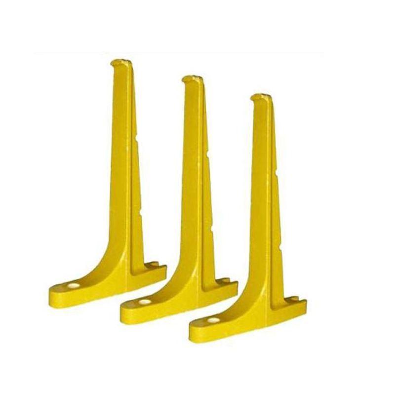 玻璃钢螺钉式电缆支架双托支架安装方法