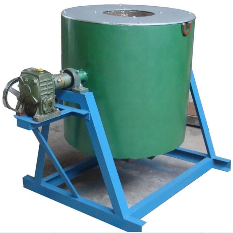 丹力铝合金熔化炉,可倾式铝合金熔化炉,