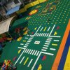 關嶺懸浮地板橡膠地墊貴州籃球場拼裝地板廠