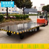 叉车拖车可牵引式平板拖车厂区搬运车