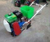农用玉米免耕施肥机自走式旱地耘播机手推式播种机