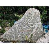 雪浪石切片组合泰山石户外天然石头景观石