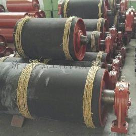 500包胶机尾滚筒 传动滚筒 DSJ皮带机尾滚筒