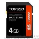 天硕 4GB工业级SD卡 SLC闪存颗粒工业存储卡