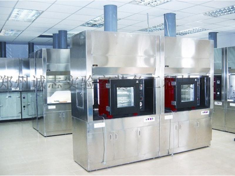 PP实验室通风柜通风橱,耐腐蚀排风柜,整体型排毒柜