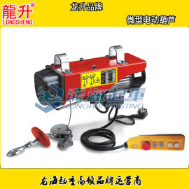 微型电动葫芦,低噪音安全可靠,可配悬臂吊