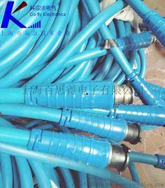 矿用运输连接器,MHYBV-7-1拉力信号电缆