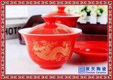景德镇陶瓷盖碗 青花瓷盖碗 陶瓷盖碗厂家