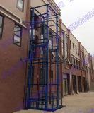 室外導軌式液壓升降貨梯平臺,導軌式液壓升降貨梯平臺