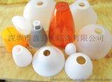 深圳專業生產燈飾配件廠家 馬蹄形斜口塑膠燈罩