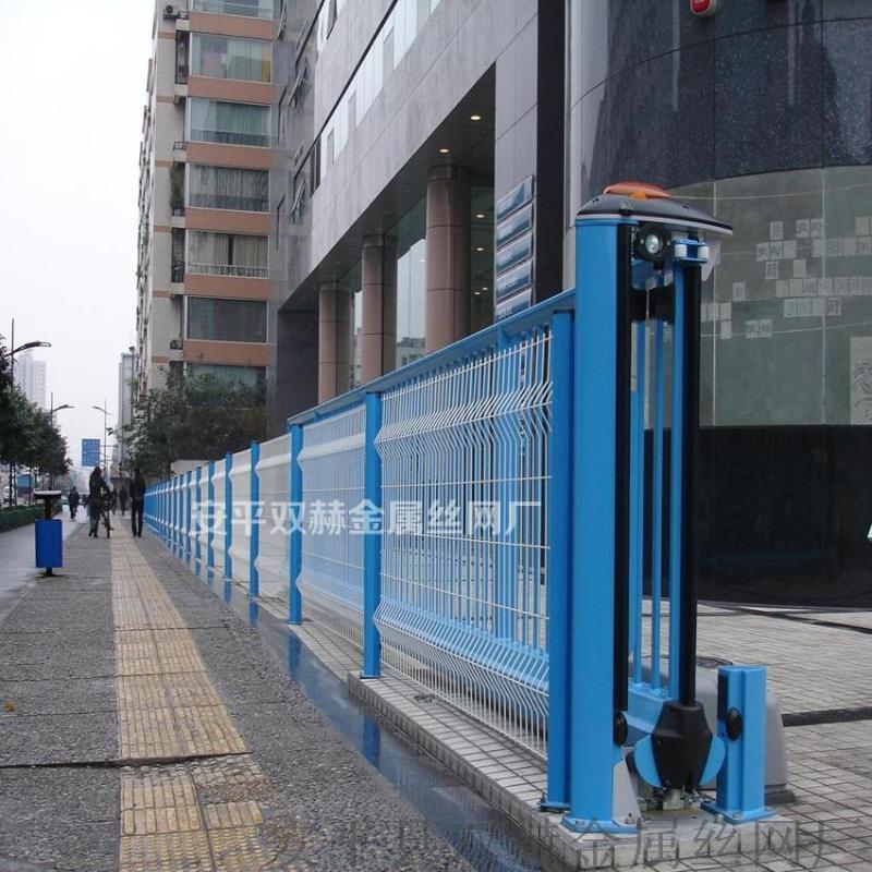 厂家供应小区白色1.8x2.5米折弯围墙网@围栏网@围网