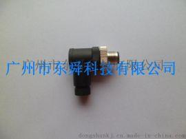 M12接插线连接器,厂家直销航空插头插座 连接线传感器