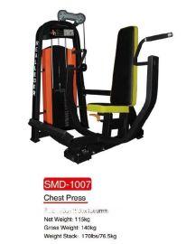 瑞利达SMD1007坐式推胸训练机商用健身器材