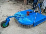 農場用的割牧草割草機四輪拖拉機帶的1米甩刀割草機