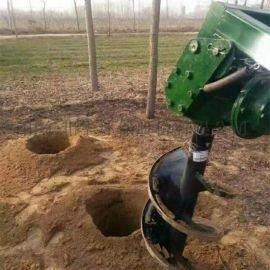大马力四冲程地钻挖坑机 汽油植树种植挖坑机
