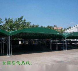 贺州伸缩篷带轮式雨棚推拉雨篷移动折叠蓬加固仓库蓬