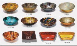 玻璃艺术盆