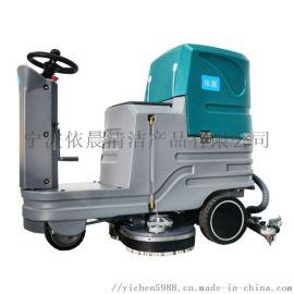 宁波驾驶式洗地机汽车工厂洗地机|大理石地面洗地机