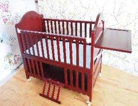 全实木婴儿床