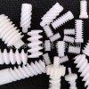 东莞市秦硕齿轮供应标准件蜗杆 塑料蜗杆 非标塑胶蜗杆定做