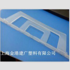 供应 物流箱产品名称 提示塑料大卡夹  周转箱配件夹  PE塑料制品