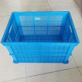 长方形水果蔬菜运输置物箱 大号加厚带盖塑料收纳周转箱厂家直销
