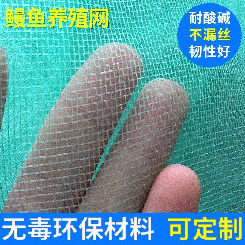 鰻魚養殖網 20目聚乙烯捕魚蝦尼龍漁網 水產魚類貝類蟹類捕撈網