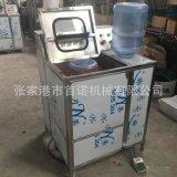 全自动在线刷桶机半自动刷桶机5加仑大桶清洗机械设备刷桶拔盖机
