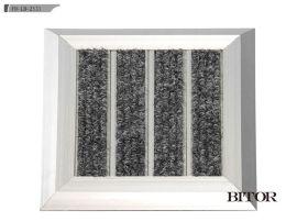 直铺型铝合金防尘地垫,除尘地毯,薄型铝合金地垫