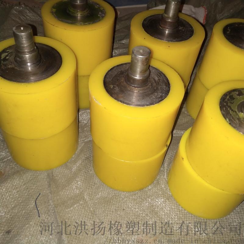 河北聚氨酯包膠輪廠家 聚氨酯包膠輪定製 耐磨包膠輪
