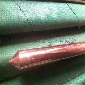 铜包钢接地极 铜包钢接地棒 纯铜离子接地极