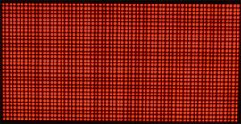 F5.0/P7.62室内点阵单红单元板