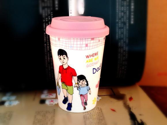 乐扣LOCK杯子批发广告陶瓷杯子定做LOGO促销广告礼品陶瓷杯马克杯