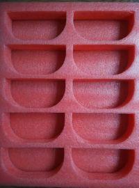 深圳珍珠棉fl17115红色珍珠棉托盘