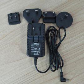 1多国**转换头12V1.2A开关电源适配器 15W adapter充电器