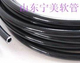 售宁美不锈钢波纹管钢丝编织增强型GPA尼龙纤维编织增强型软管