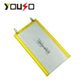 工厂批发A品聚合物锂电芯V7000mAh移动电源电池7564113电池