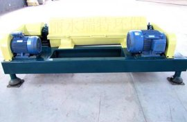 WL450优质碳钢卧螺离心脱水机 污水处理厂专用污泥脱水机