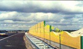 工厂声屏障高速声屏障桥梁吸音板