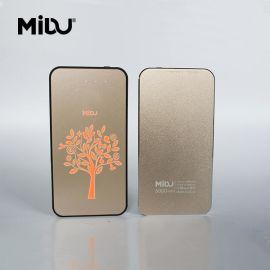 厂家直销MIDU品牌灯箱移动电源广告创意礼品定制